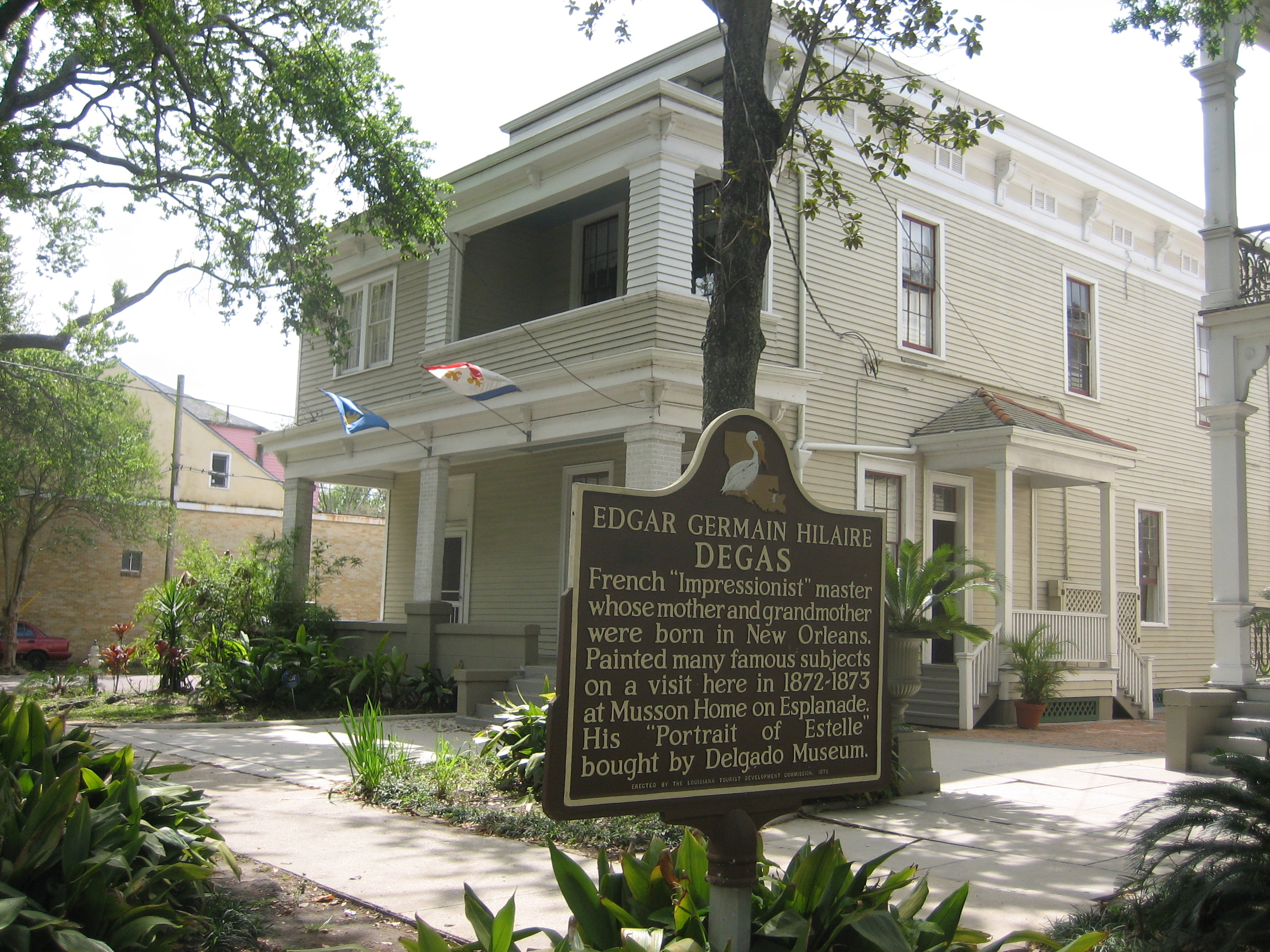 Degas House | FrenchQuarter com