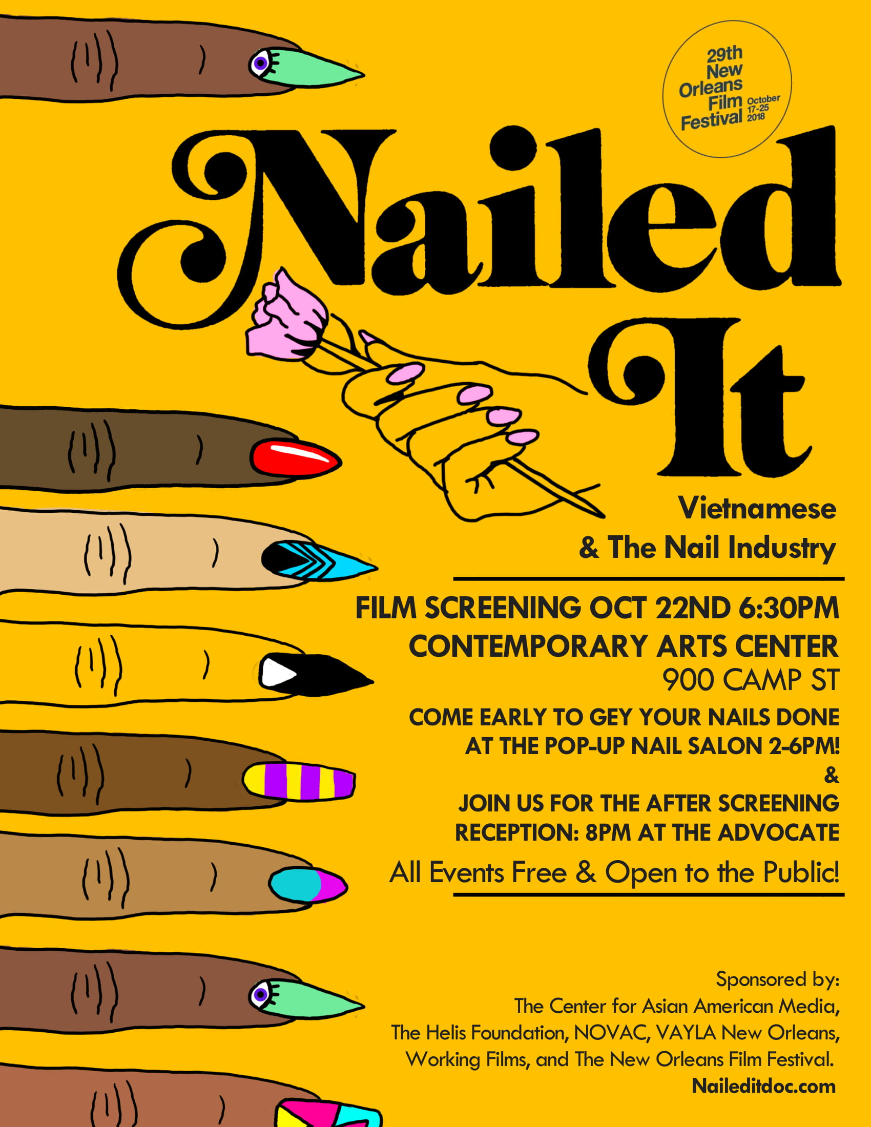 Nailed It Film Screening - Contemporary Arts Center | Things
